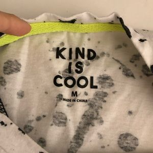 Shirts & Tops - Kind is Cool Target Girls White & Black Tunic M